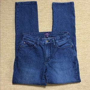 NYDJ Skinny Jeans Medium Wash 6P 6 Petite